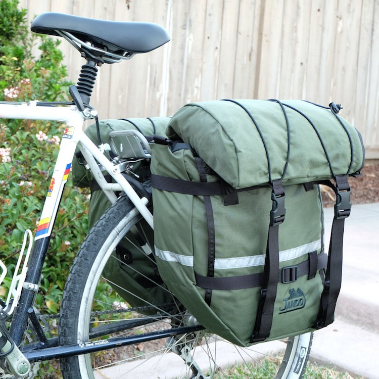 photo: Jandd Large Mountain Pannier backpack