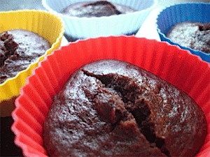 photo: Packit Gourmet Molten Chocolate Lava Cakes dessert