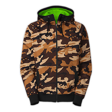 photo: The North Face Halftrack Hoodie soft shell jacket