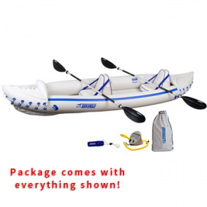 photo: Sea Eagle Sport 370 inflatable kayak