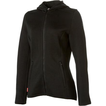 photo: Icebreaker Igloo Hooded Jacket wool jacket