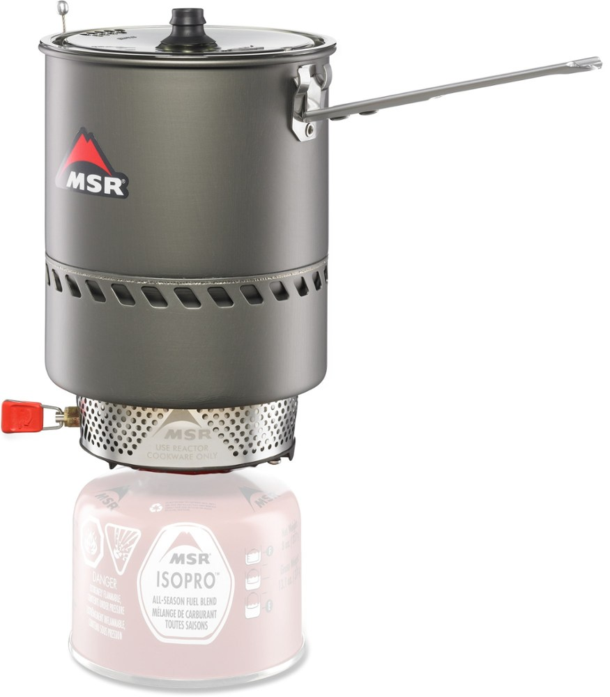 photo: MSR Reactor Stove System compressed fuel canister stove