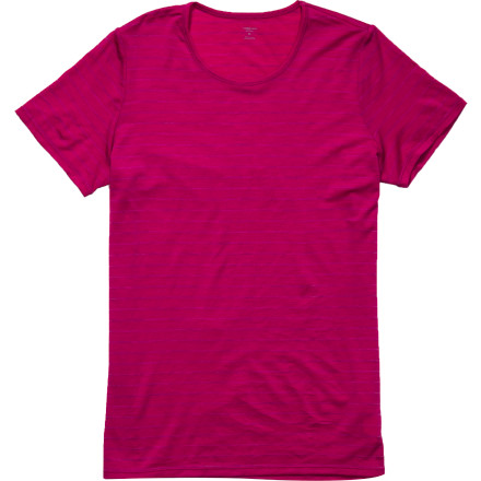 photo: Icebreaker Siren Short Sleeve Crewe base layer top