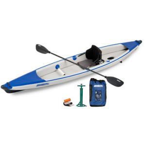 photo: Sea Eagle RazorLite 393 inflatable kayak