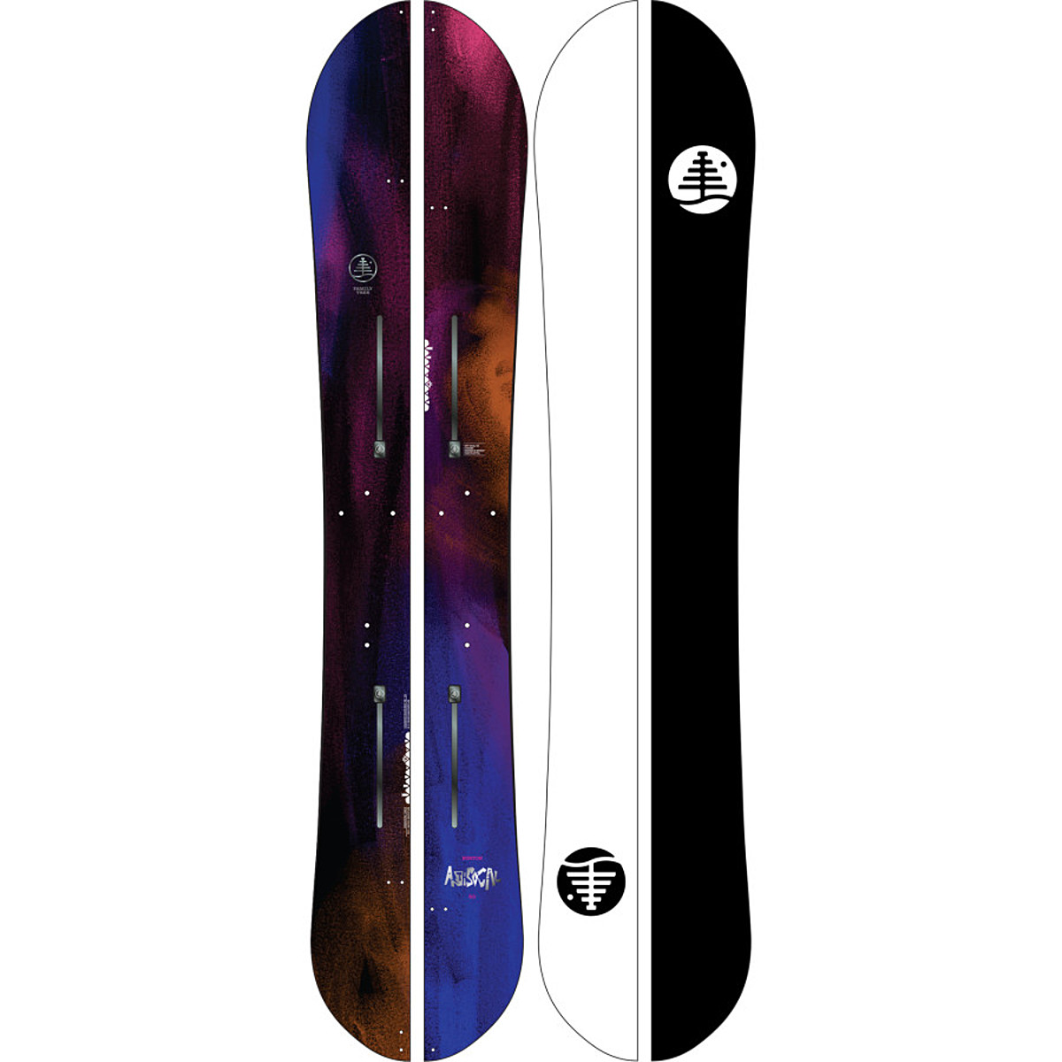 photo: Burton Family Tree Anti-Social splitboard