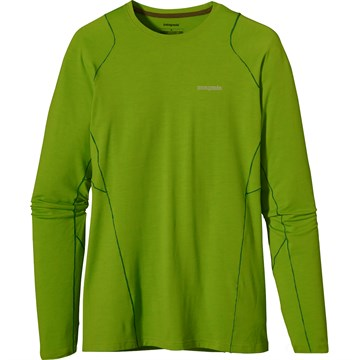 photo: Patagonia Men's Long-Sleeved Thermal Flyer Shirt long sleeve performance top