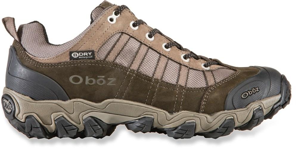 photo: Oboz Tamarack Low Waterproof trail shoe