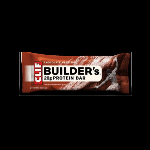 photo: Clif Builder's Chocolate Hazelnut nutrition bar