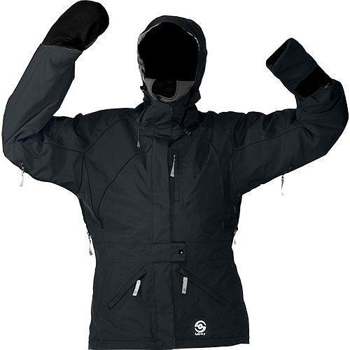 photo: Loki Women's META Hard Shell synthetic insulated jacket