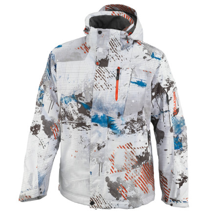 photo: Salomon Men's Zero Jacket snowsport jacket
