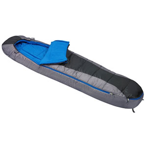 photo: Wenzel Reverie Mummy 30 3-season synthetic sleeping bag