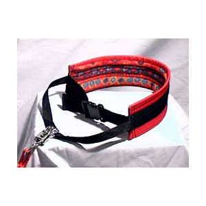 photo: Nooksack Racing Supply Trekking Belt and Bungee Line dog leash