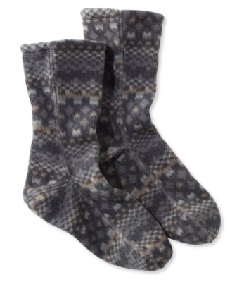 L.L.Bean Fleece Socks