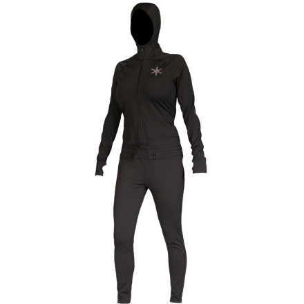 photo: Airblaster Women's Expedition Weight Ninja Suit one-piece base layer