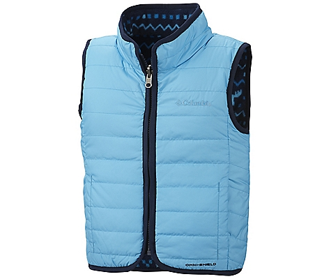 photo: Columbia Double Trouble Vest synthetic insulated vest