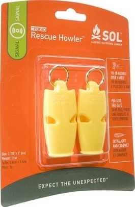 photo: SOL Rescue Howler whistle/horn