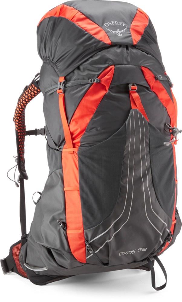 photo: Osprey Exos 58 weekend pack (50-69l)