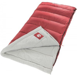 photo: Coleman Aspen Meadows 50 warm weather synthetic sleeping bag