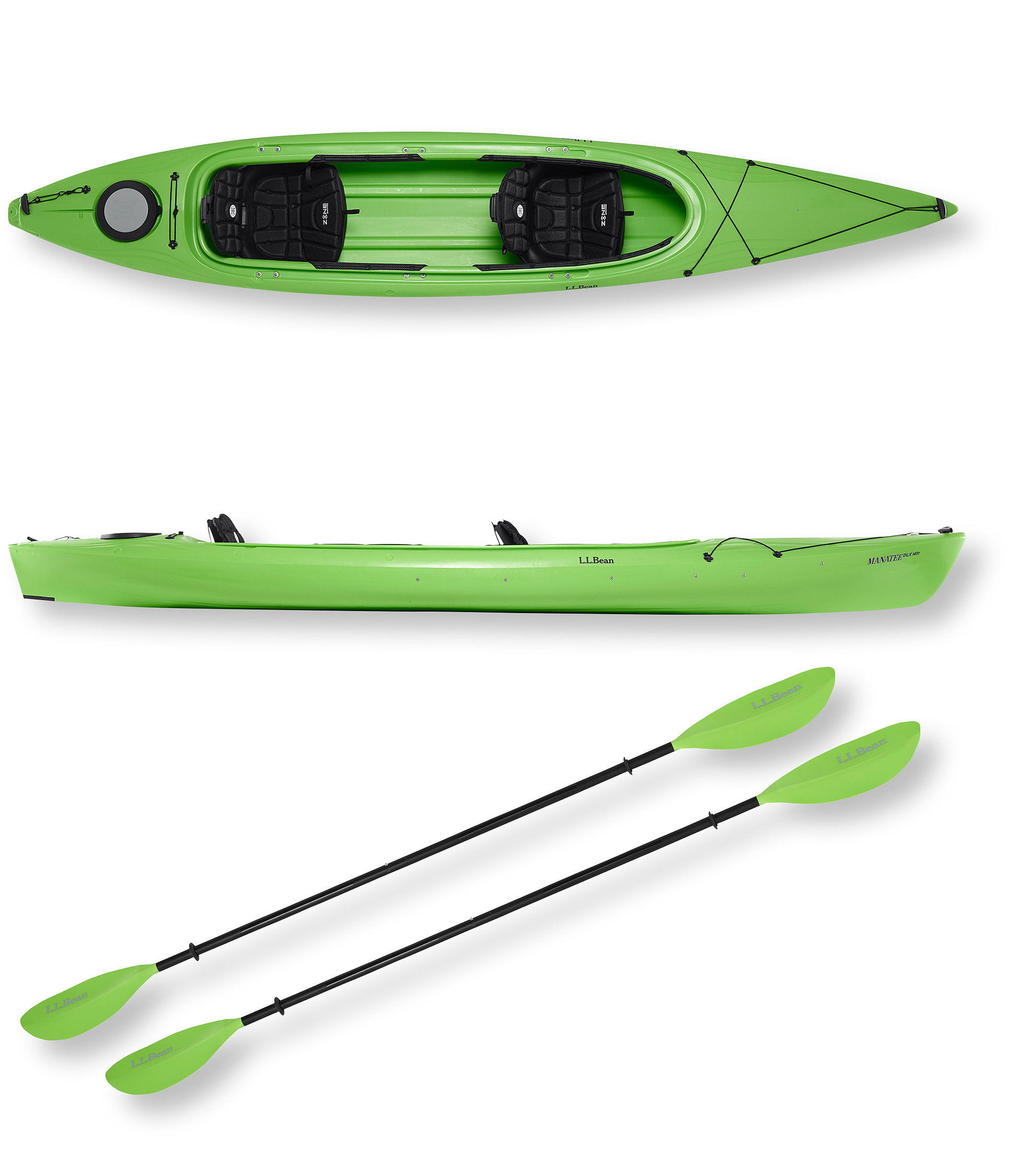 photo: L.L.Bean Manatee Deluxe Tandem recreational kayak