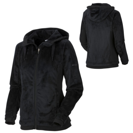 photo: Columbia Plush Peak Full Zip Hoodie fleece jacket