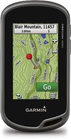 photo: Garmin Oregon 600 handheld gps receiver