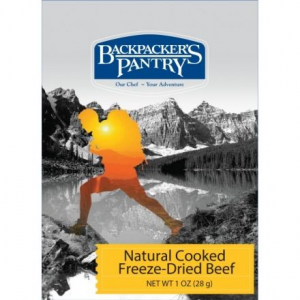 Backpacker's Pantry Freeze-Dried Cooked Beef