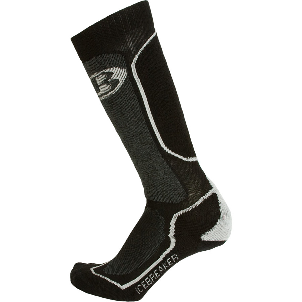 photo: Icebreaker Women's Ski+ Mid Over the Calf snowsport sock