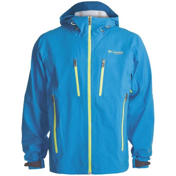 photo: Columbia Deep Ghyll Shell waterproof jacket