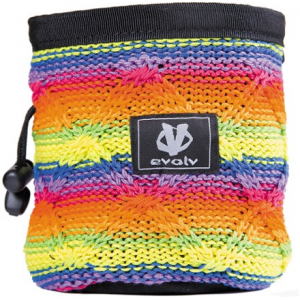 photo: evolv Cotton Knit Chalk Bag chalk bag