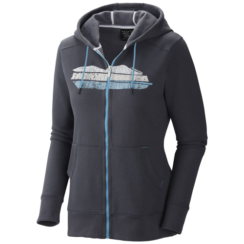photo: Mountain Hardwear Rocquetta Full Zip Hoody fleece jacket
