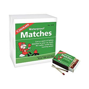 photo: Coghlan's Waterproof Matches fire starter