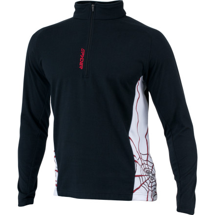 photo: Spyder Sideline Web long sleeve performance top