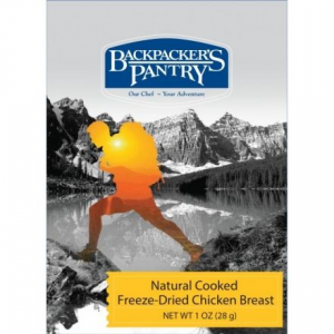 Backpacker's Pantry Freeze-Dried Cooked Chicken