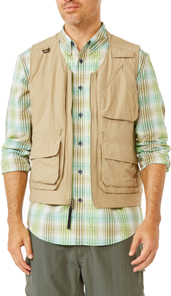 photo: Royal Robbins Men's Field Guide Vest wind shell vest