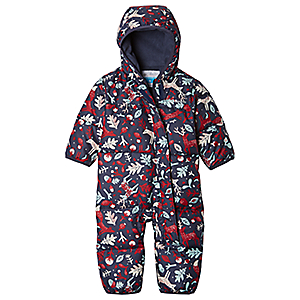 photo: Columbia Snuggly Bunny Down Bunting kids' snowsuit/bunting