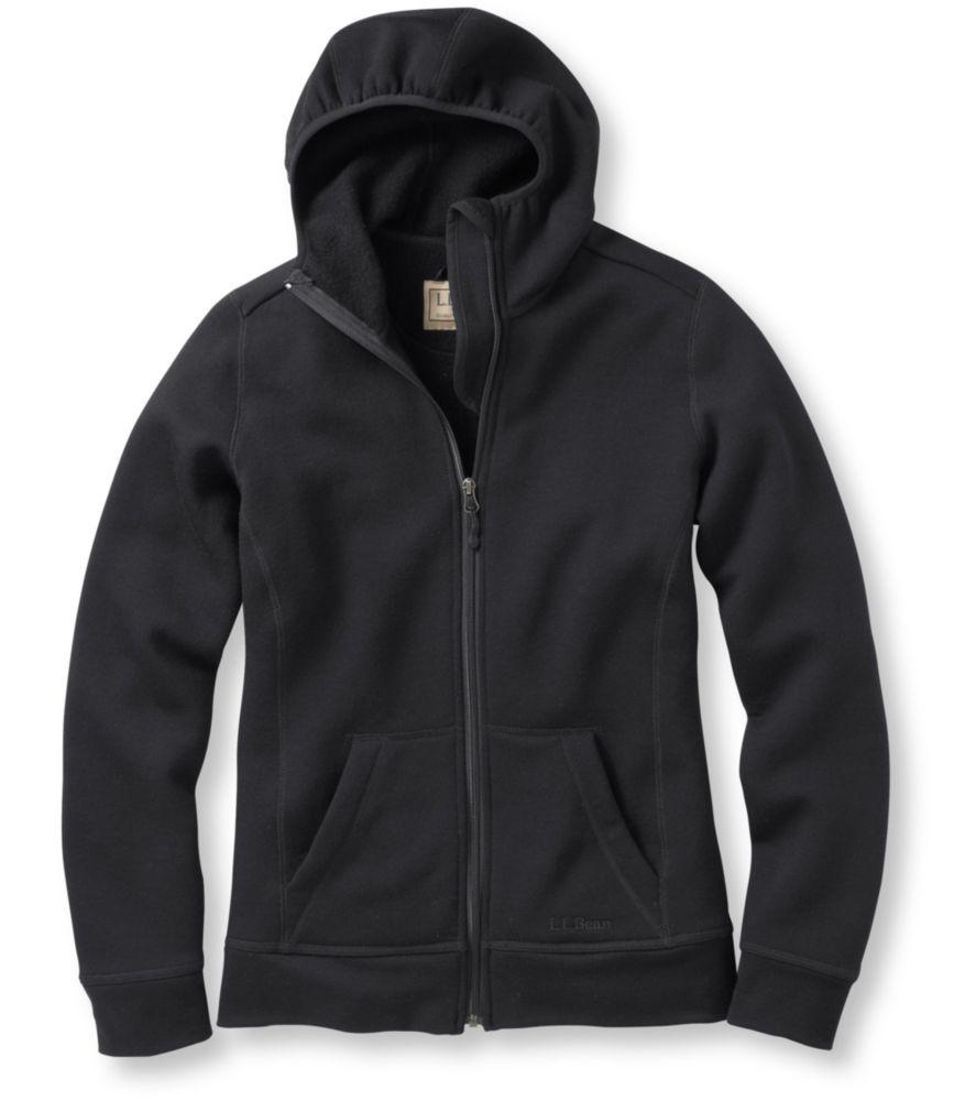 L.L.Bean Merino Wool Hooded Sweatshirt