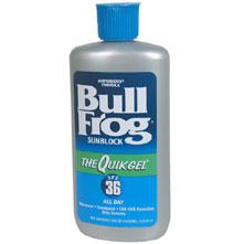 photo: BullFrog QuikGel SPF 36 sunscreen