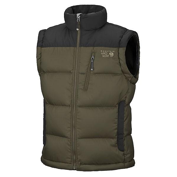 photo: Mountain Hardwear Sub Zero Vest down insulated vest