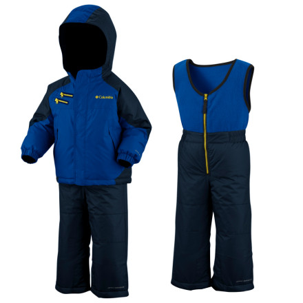 photo: Columbia Kids' Rugged Reversible Set kids' snowsuit/bunting