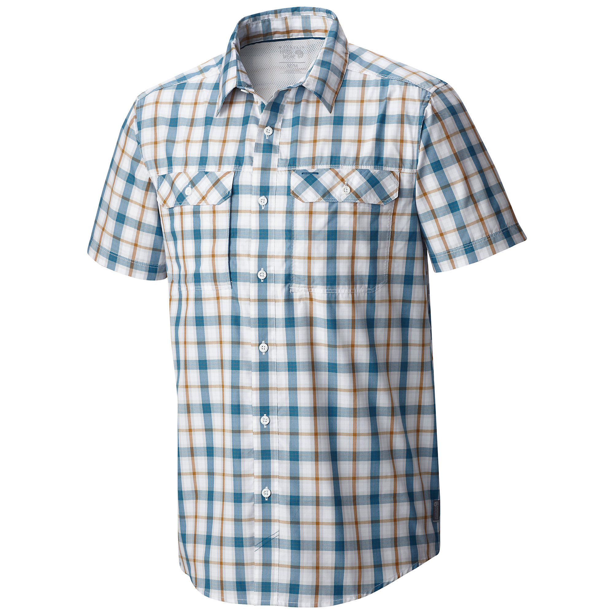 Mountain Hardwear Canyon Plaid Short Sleeve Shirt