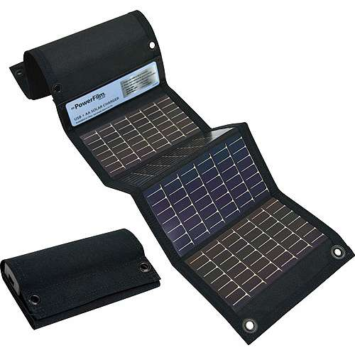 PowerFilm USB+AA Solar Charger