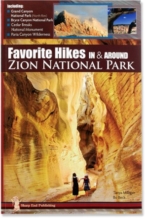 photo: Sharp End Publishing Favorite Hikes In & Around Zion National Park us mountain states guidebook