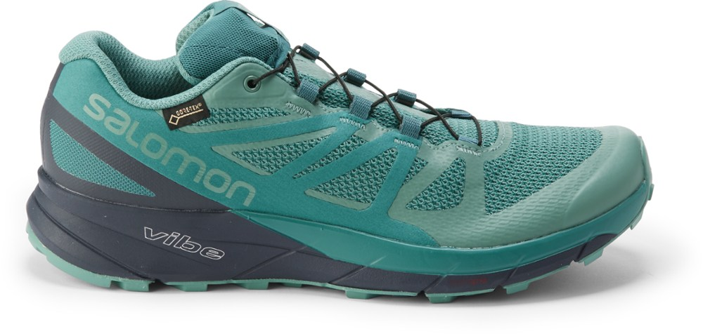 photo: Salomon Women's Sense Ride GTX Invisible Fit trail running shoe
