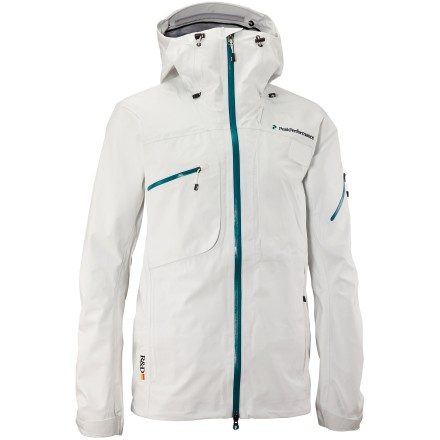photo: Peak Performance Men's Heli Alpine Jacket waterproof jacket