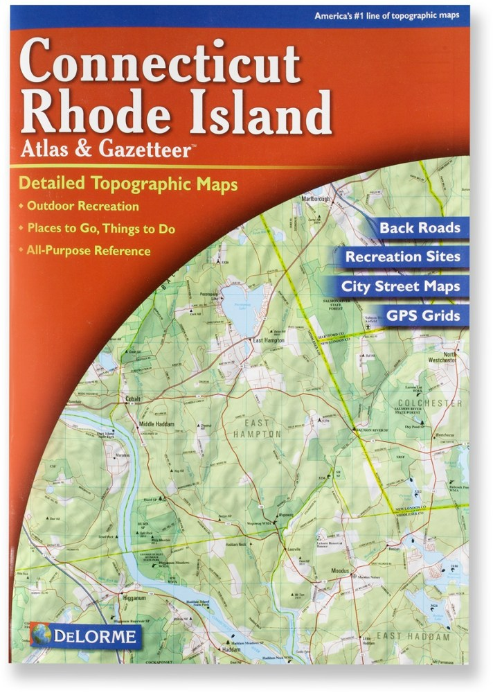 DeLorme Connecticut and Rhode Island Atlas and Gazetteer
