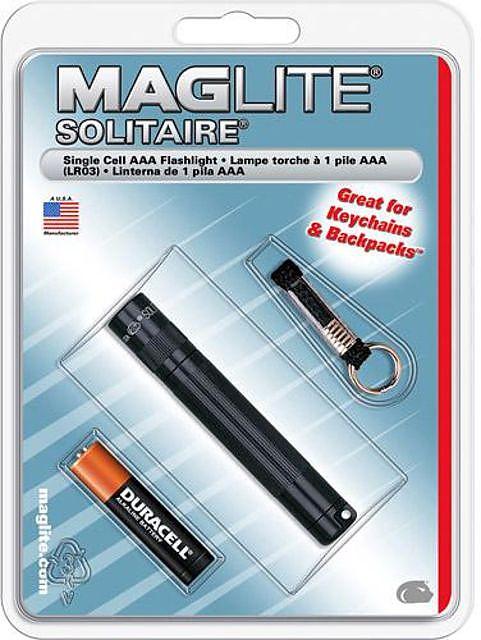 photo: Maglite Solitaire LED flashlight