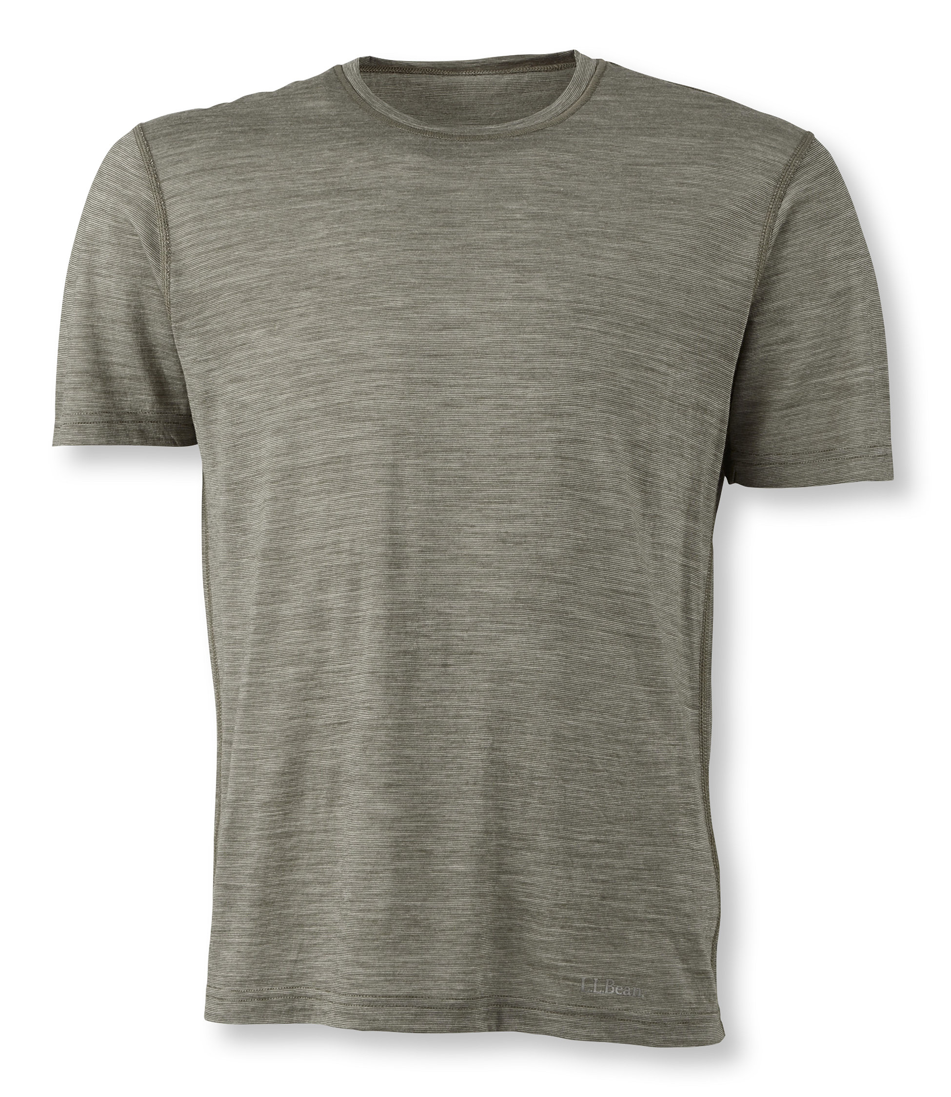 L.L.Bean Cresta Wool Ultralight Base Layer Short Sleeve