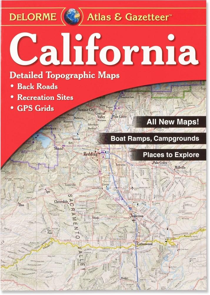 DeLorme California Atlas and Gazetteer