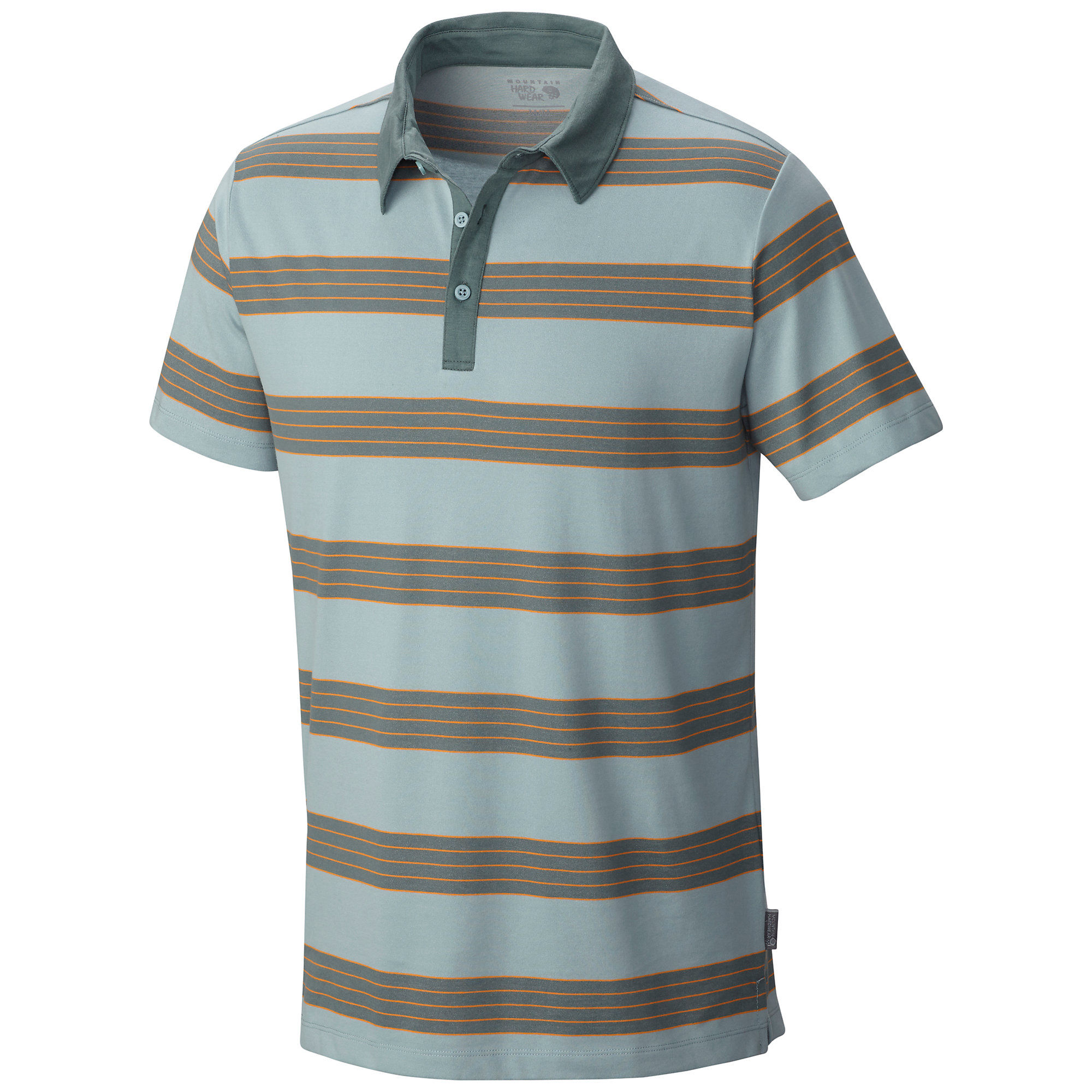 Mountain Hardwear ADL Striped Short Sleeve Polo
