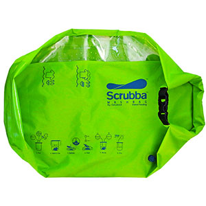 photo: Scrubba Wash Bag equipment cleaner/treatment